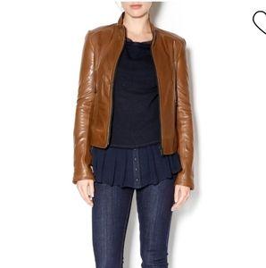 June Leather Jacket Moto Biker